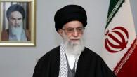 Une photo publiée par le bureau du guide suprême iranien, l'ayatollah Ali Khamenei, le 20 mars 2014, lors d'un discours à la nation à l'occasion de Noruz, le Nouvel An iranien, à Téhéran. (Crédit : AFP Photo / Cabinet du leader suprême)
