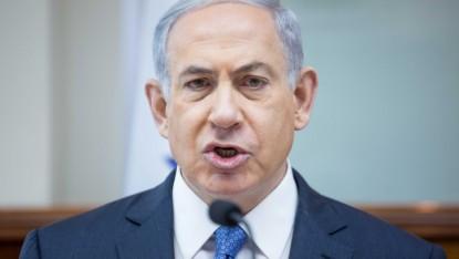 Le Premier ministre israélien Benjamin Netanyahu lors de la conférence hebdomadaire du gouvernement au bureau du Premier ministre,  à Jérusalem, le 29 mars 2015. (Crédit : Flash90/Emil Salman / POOL)