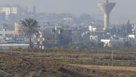 Frontière entre Israël et Gaza (David Buimovitch/Flash90)
