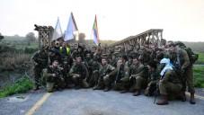 Soldats du Bataillon 299 sur le terrain, le 10 février 2012 (Courtesy IDF/Flickr)