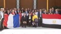 La delegation d'Orange en Egypte le 3 juin 2015 (compte Twitter de Stéphane Richard, le PDG d'Orange)