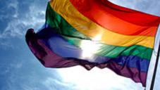 Drapeau du LGBTQ (Wikimedia commons)