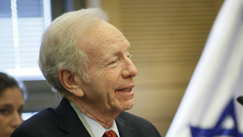 Image result for caricature Joe Lieberman Israel