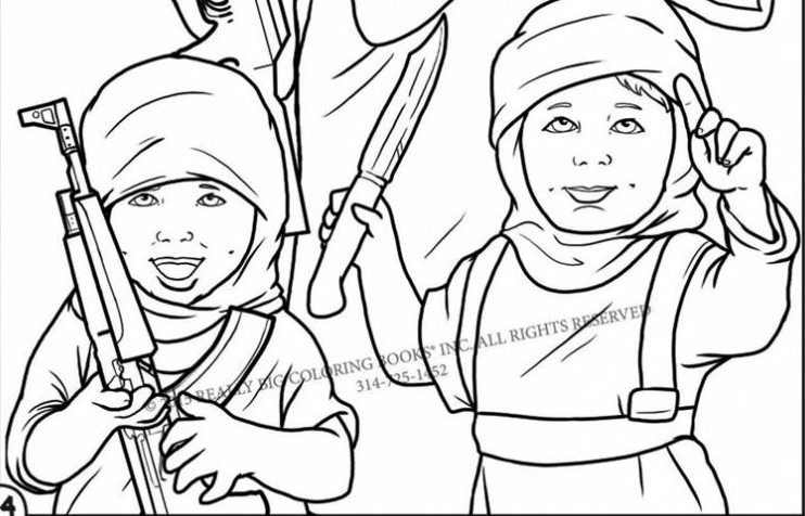 Islamic Coloring Book Pages Sketch Coloring Page