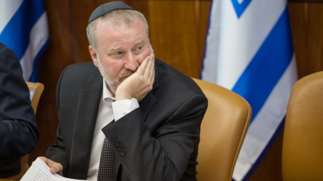 Attorney General Avichai Mandelblit