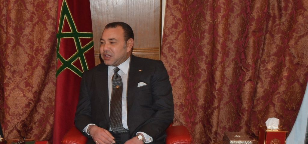 King Mohammed VI of Morocco at the Moroccan Ambassador to the United States' residence in Washington, DC, on November 20, 2013. (US State Department)