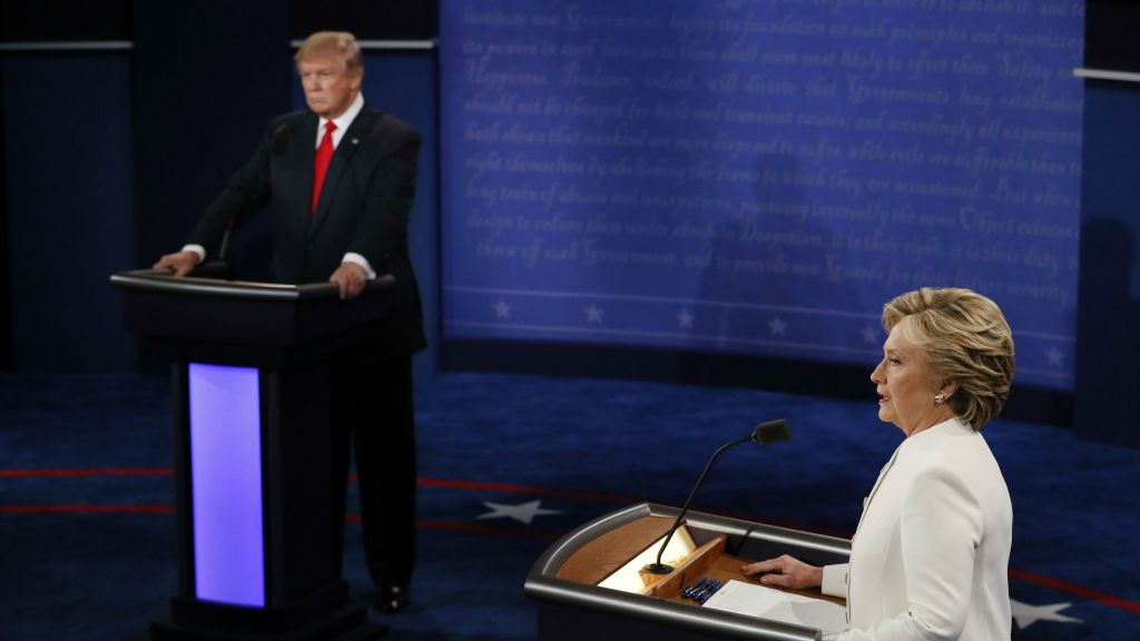 Image result for third debate presidential October 19, 2016 las Vegas site