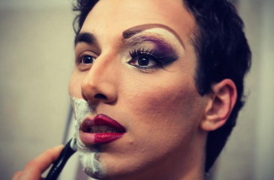 Lior Yisraelov has gone through several transformations in his life. (JTA/Katya Borodin)