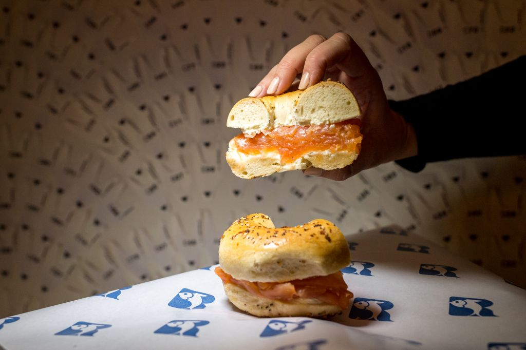 Illustrative image of a classic everything bagel and smoked salmon. (Courtesy Russ and Daughters)