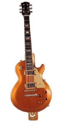 Photo of a guitar mezuzah
