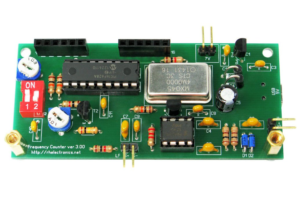 Frequency Counter With Pic16f628a
