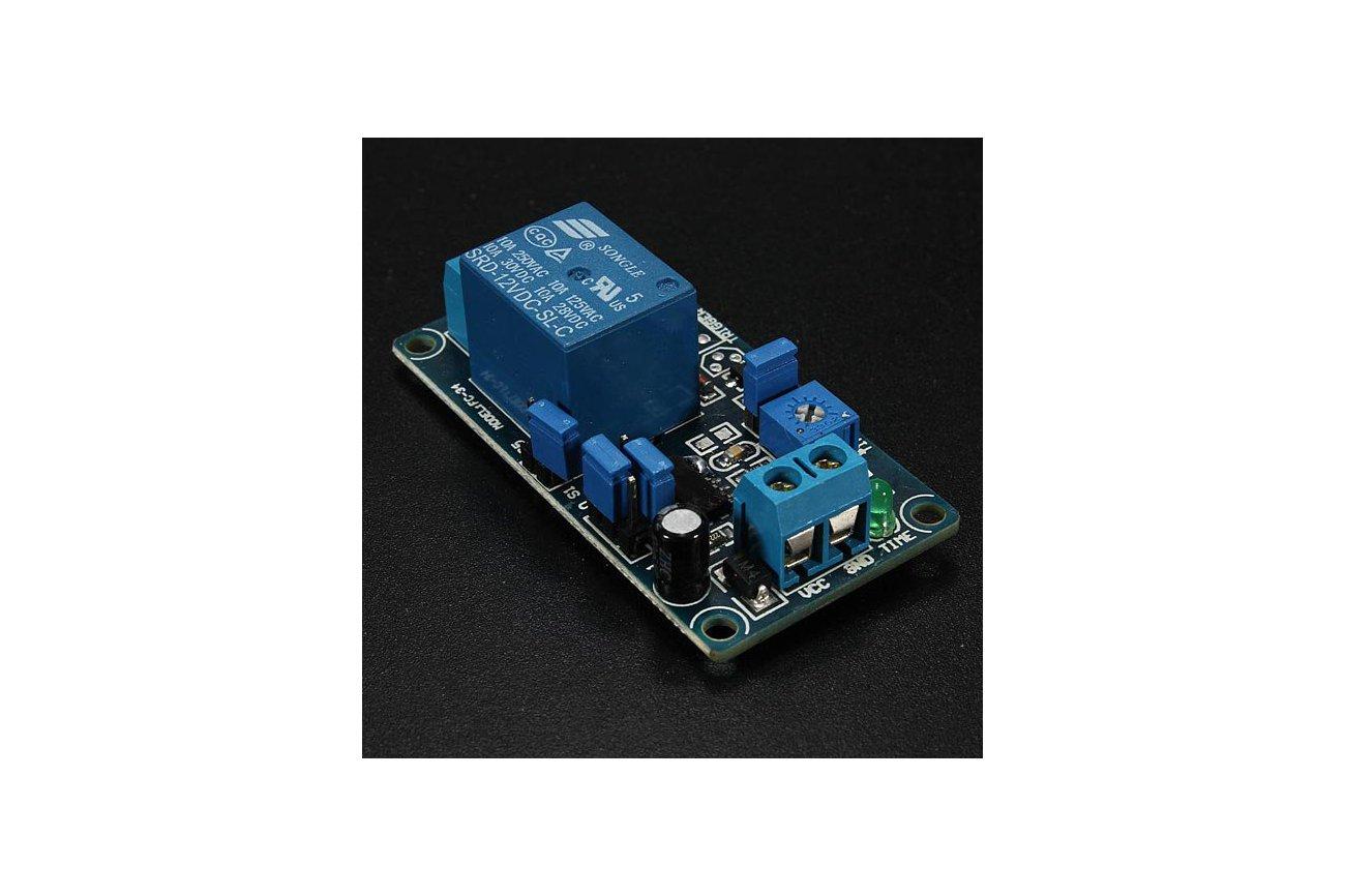 12v Poweron Delay Relay Module Delay Circuit Module Ne555 Chip Alex