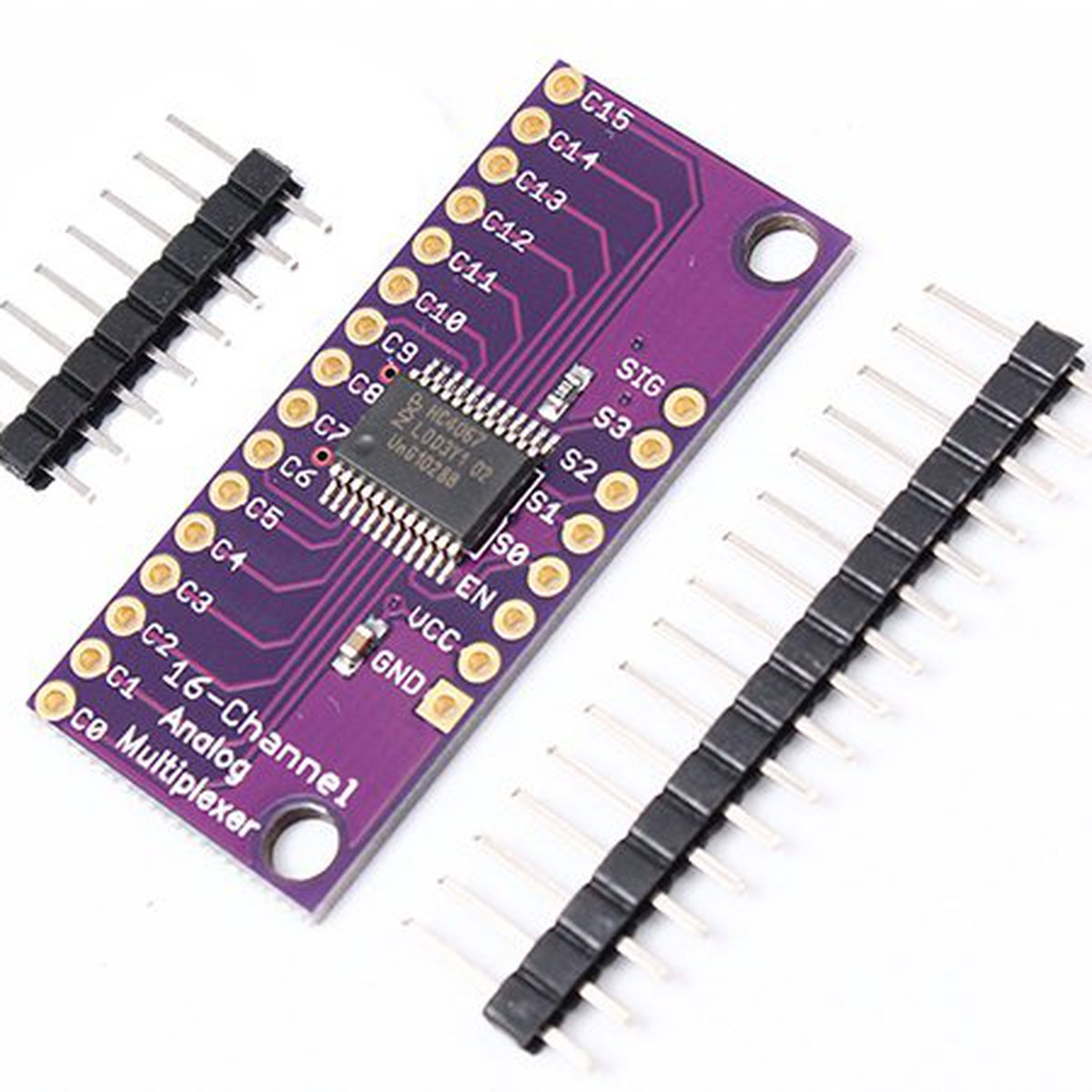 hight resolution of cd74hc4067 analog digital mux breakout board 5279 from icstation on tindie