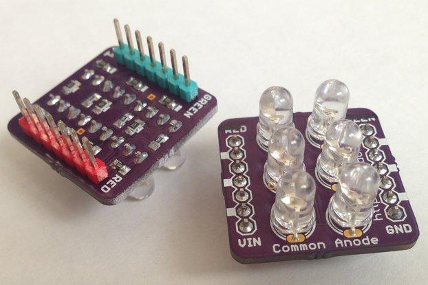 Cross Led Dot Matrix Display Circuit Board From Mmm999 On Tindie