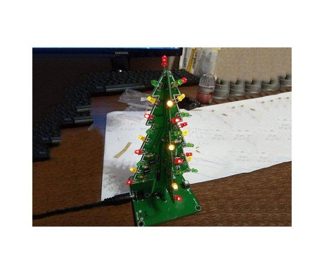 Diy Flashing Led Christmas Tree Circuit Kit