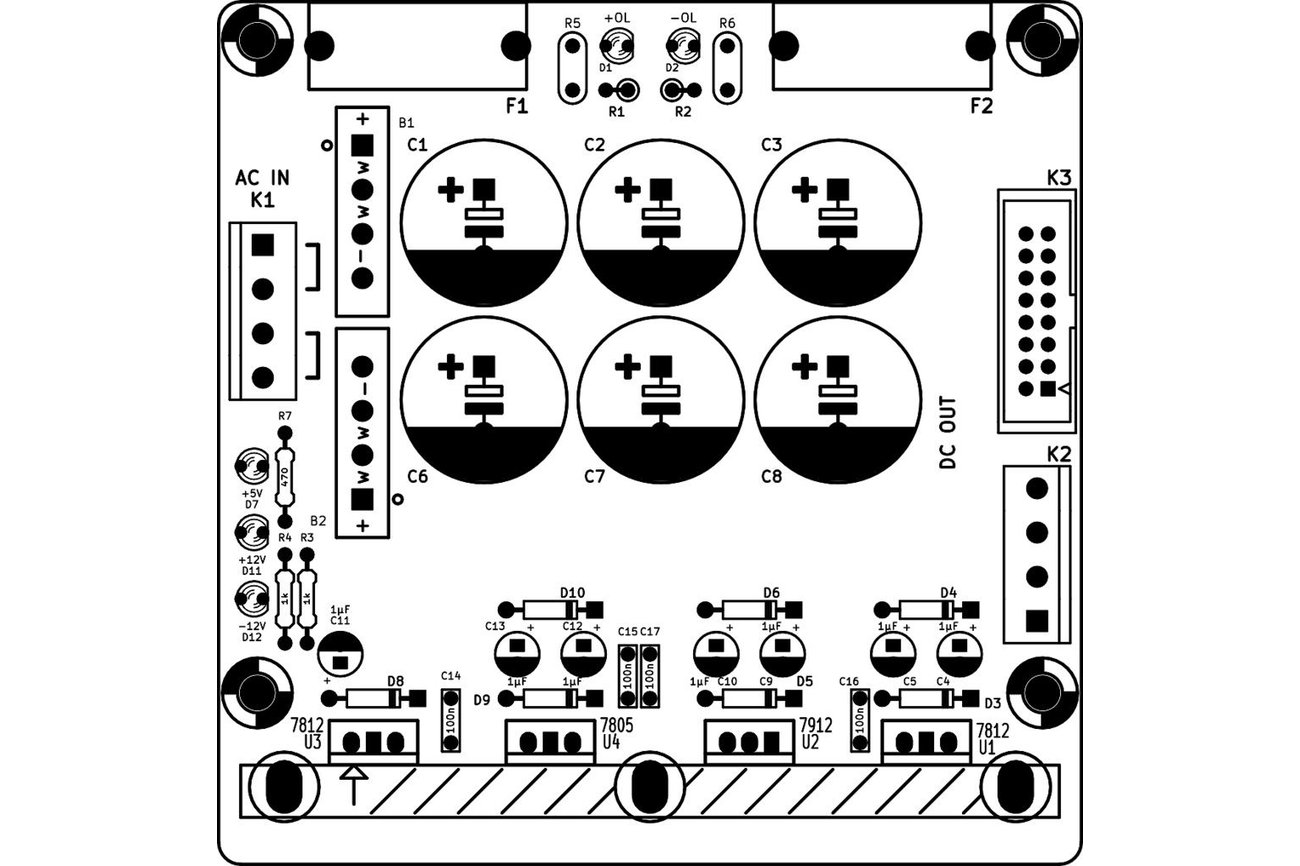 Linear Eurorack Power Supply Kit From Electronic Things