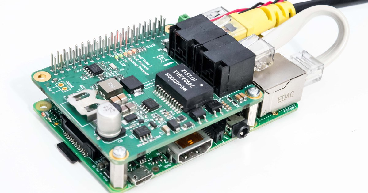 Printed Circuit Board For Six Raspberry Pi Singleboard Computers