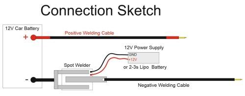 small resolution of diy arduino battery spot welder v2 prebuilt kit 7