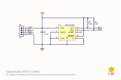 small resolution of 4x sht31 d with filter cap and i2c switch bundle 5