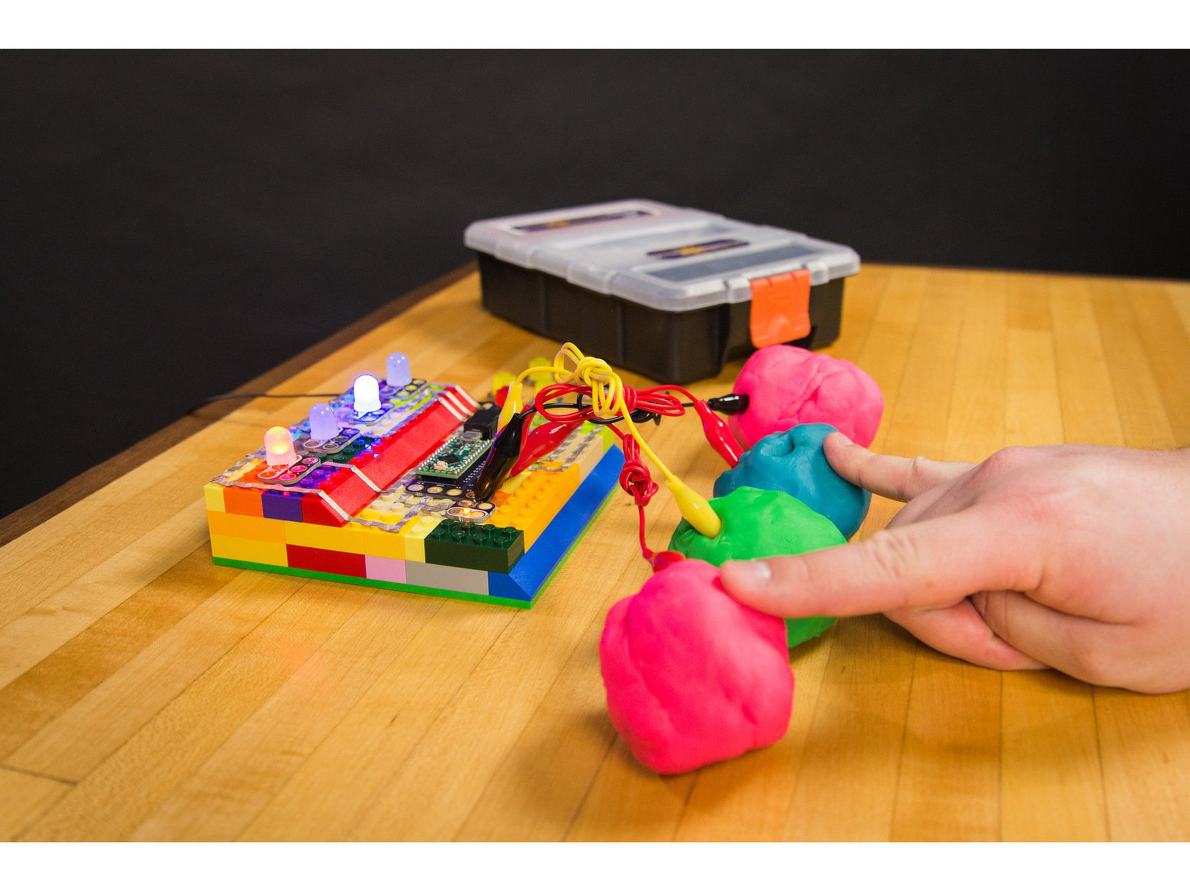 Crazy Circuits With Squishy Circuits Kit From Brown Dog