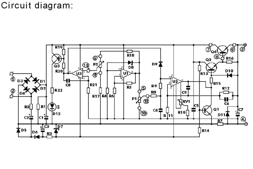 medium resolution of precise power supply adjustable 0 30v 0 3a diy 5 circuit diagram