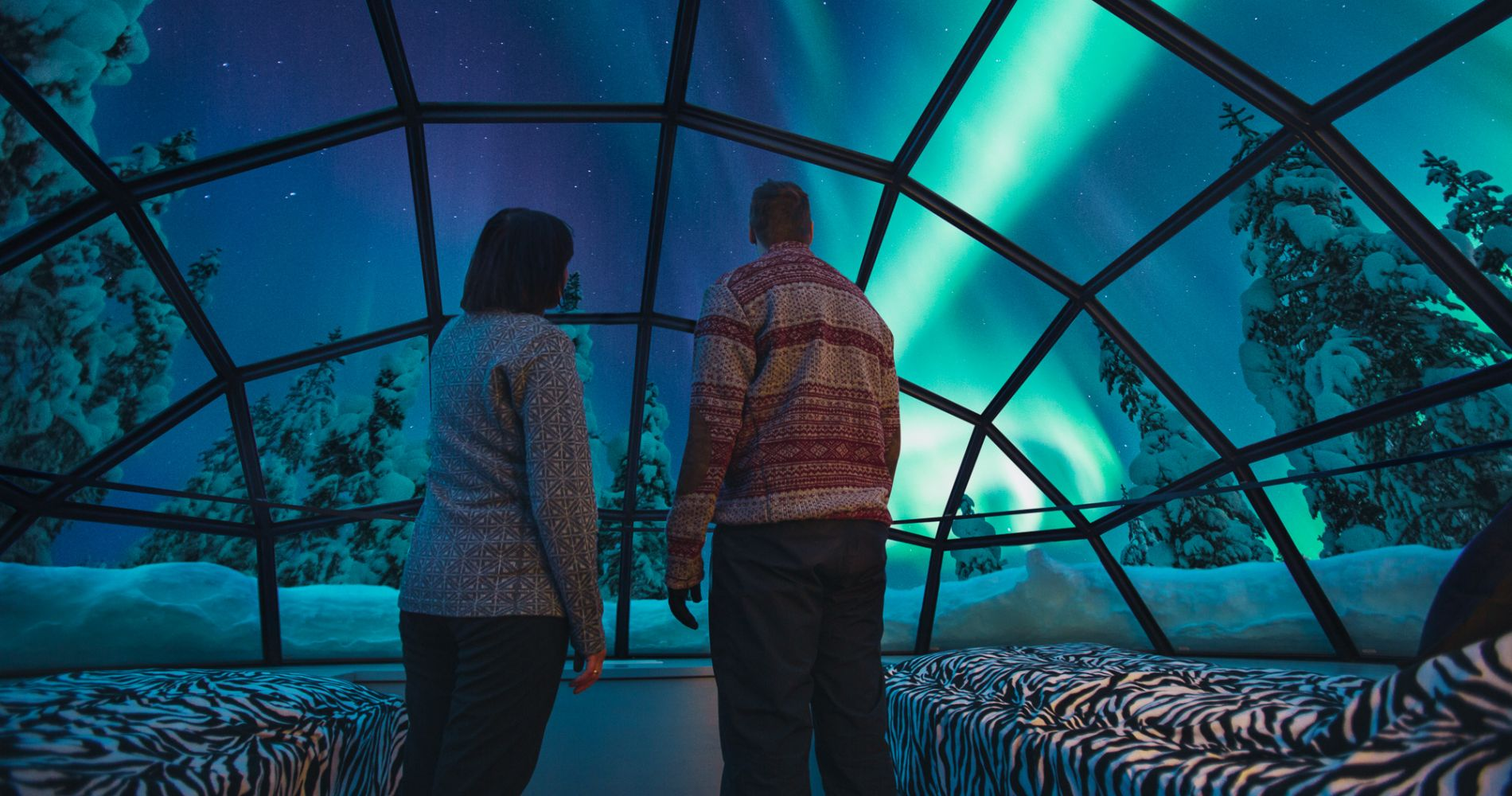Two Night Stay In Finland' Glass Igloos Tinggly