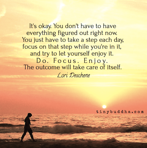 The outcome will take care of itself