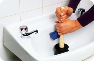 unclog the sink with natural