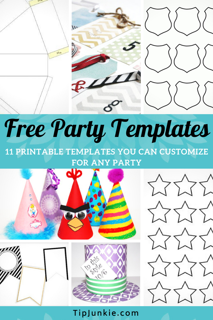 11 Free Party Templates To Print On Tip Junkie