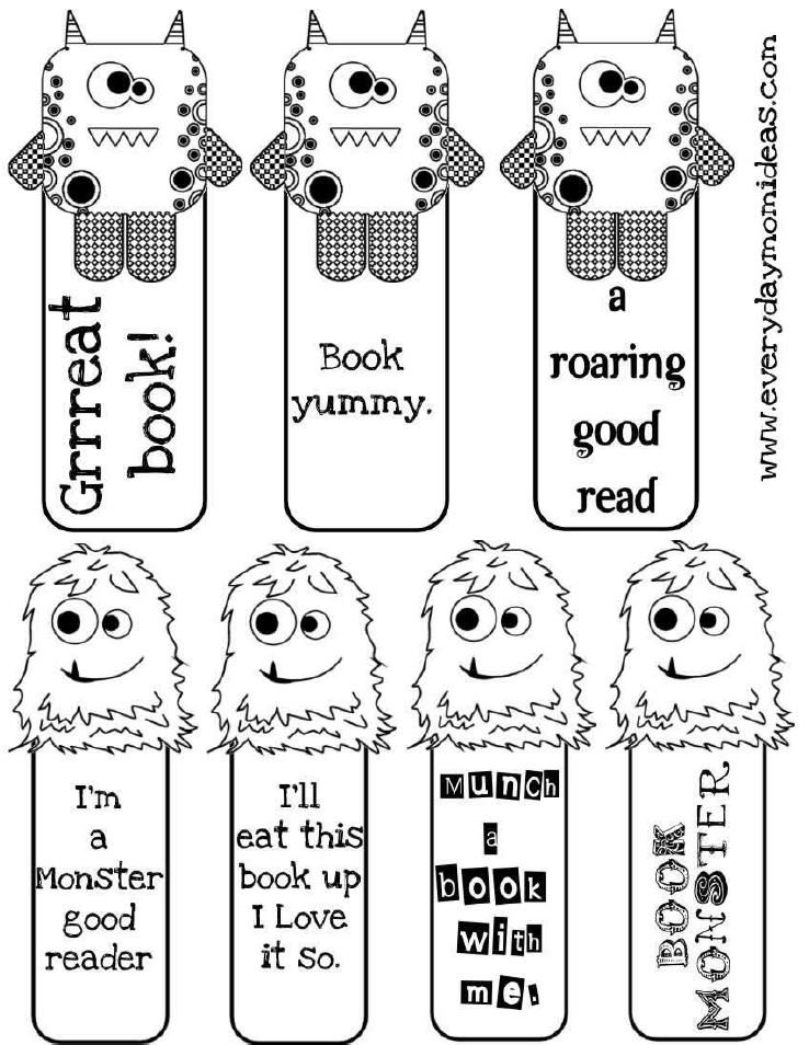 80 Free Amazing Bookmarks to Make {free printables}