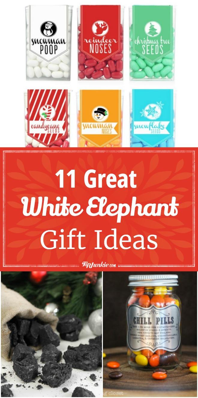 11 great white elephant