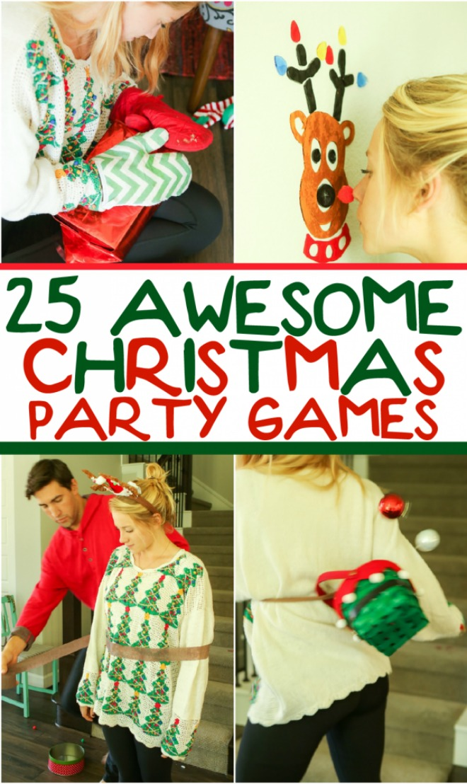 13 Christmas Party Game Ideas   Tip Junkie