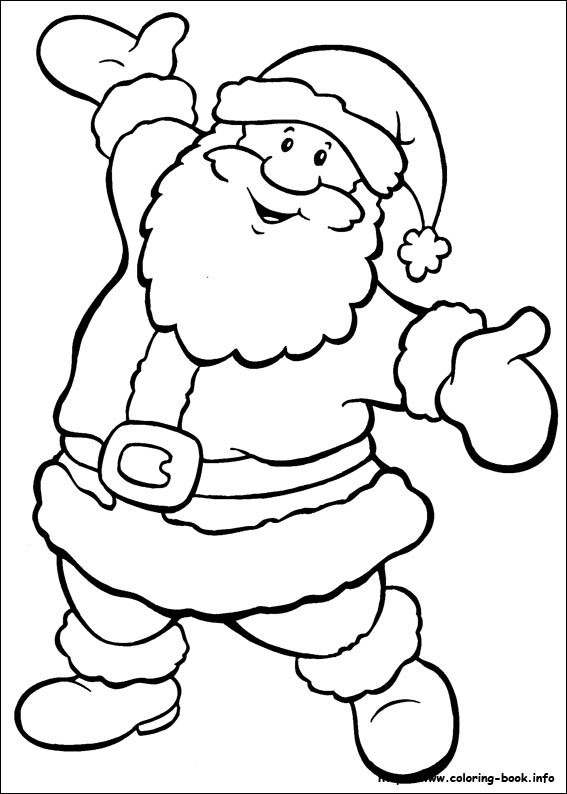 10 christmas coloring pages