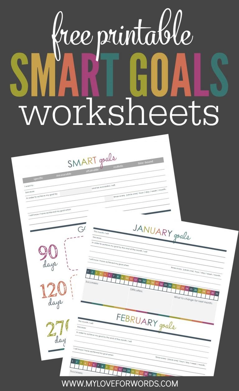 Smart Goal Checklist In Excel