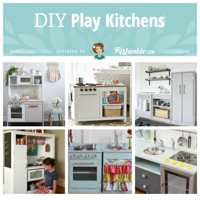 16 DIY Play Kitchen Ideas Tutorials Tip Junkie