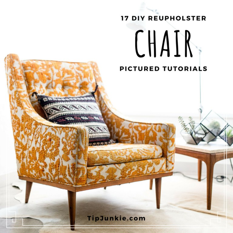diy reupholster living room chair paint ideas with hardwood floors 17 how to a tip junkie