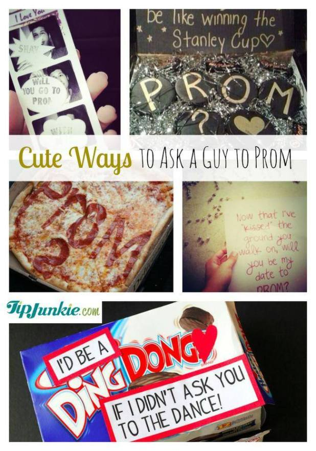 How to ask a girl out with poster how to ask your date to prom with these 23 fun ideas tip junkie ccuart Image collections