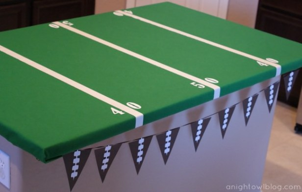 Football Field Party Table