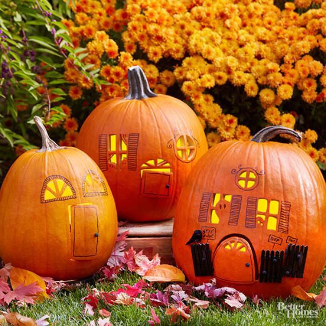 20 Spook Tacular Ways To Decorate Your Pumpkins Tip Junkie