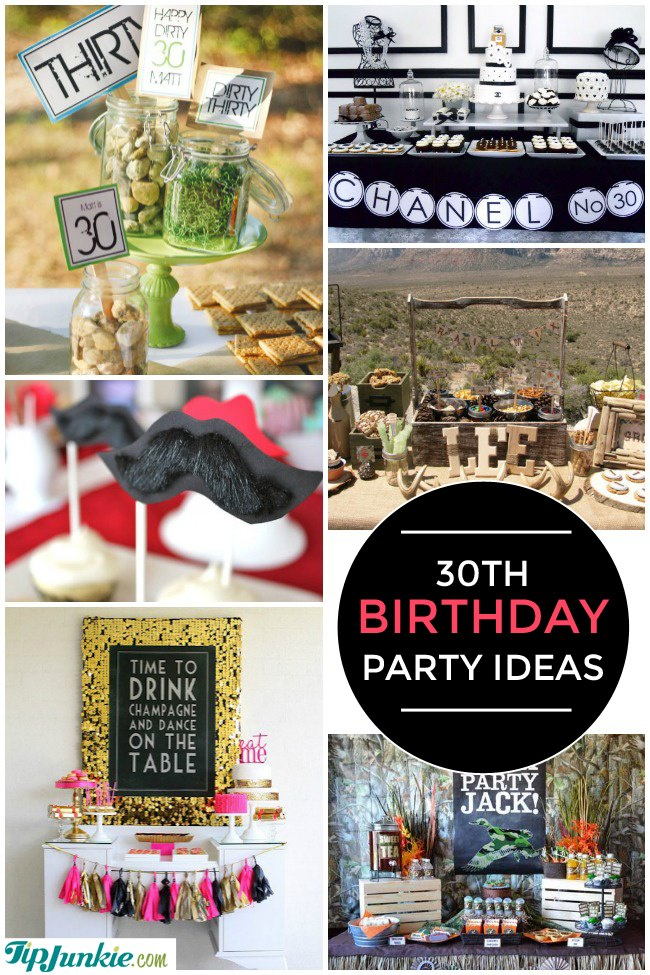 28 Amazing 30th Birthday Party Ideas Also 20th 40th 50th 60th