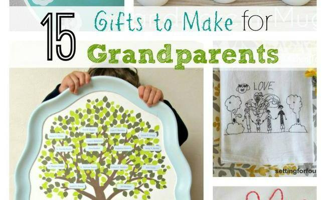 15 Thoughtful Gifts To Make For Grandparents Tip Junkie