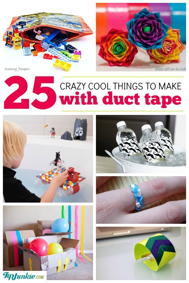 25 cool duct tape