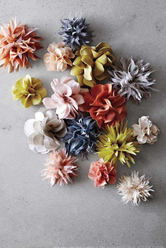 How To Make Flowers Out Of Fabric : flowers, fabric, Fabric, Flowers, Junkie