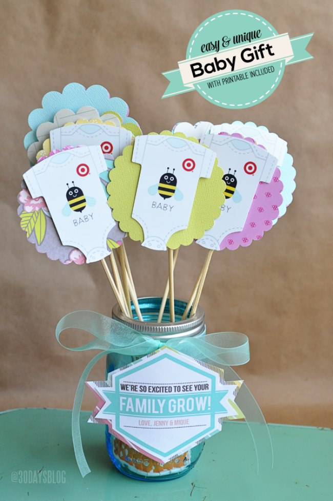 48 Darling DIY Baby Shower Gifts  Tip Junkie