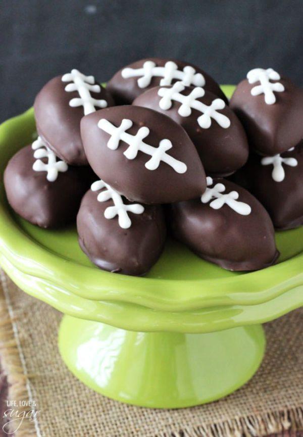 Cookie Dough Footballs