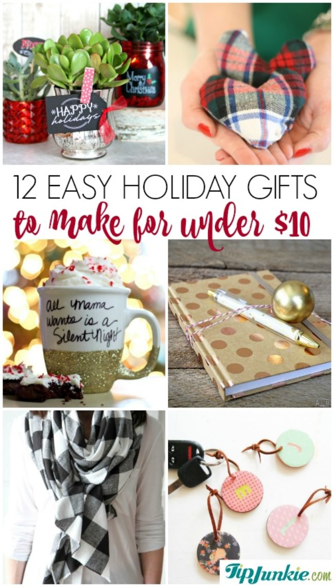 12 easy holiday gifts