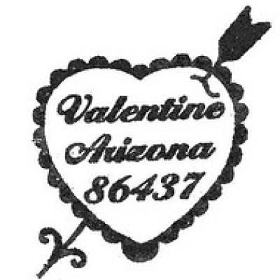 Valentine Postmarks {Valentines Day Fun}
