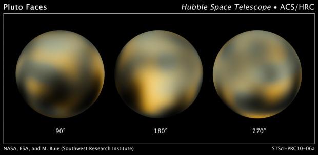 Wahana NASA Tangkap Objek Diduga Es di Pluto