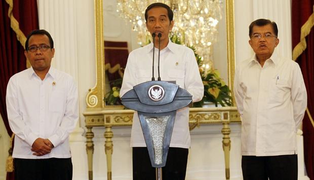Jokowi Tegaskan Tak Ingin Revisi UU KPK