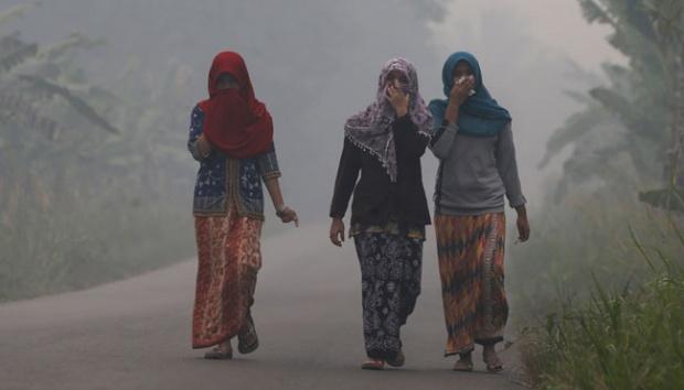 Kebakaran Hutan Indonesia Kali Ini Terburuk dalam Sejarah